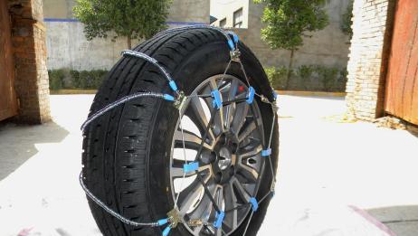 """轮胎被铁链锁住还能跑?看看那老外的""""作死""""实验"""