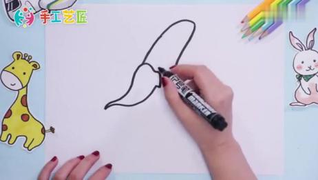 香蕉简笔画怎么画,画详细的香蕉简笔画教程