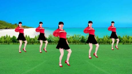 健身操《不要停》简单动感瘦腰腹,晨炼晚炼都合适