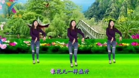 热门藏族舞《我的九寨》简单大气优美,可受欢迎