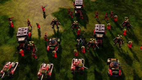 【红色警戒3】Dawn:假如越共来到了RA3【红色警戒】将军2模组无限钱3v3,场面震撼堪
