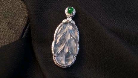 冬天里的时尚,高冰翡翠珠宝