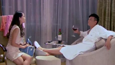 美女去酒店找一男子,竟叫他小公子,有钱人就是会玩!