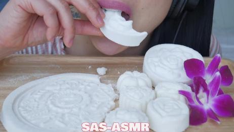 【SASASMR】小姐姐吃的粉笔糖