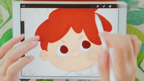 活动作品Procreate绘画视频