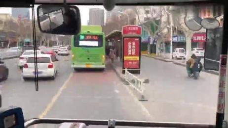 「淮安公共交通」淮安公交K1路(淮安汽车南站—淮安火车站)全程POV