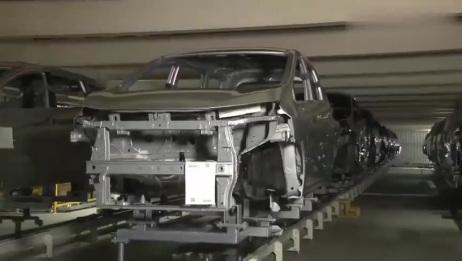 实拍,日本三菱汽车生产组装全过程,质量如何一目了然