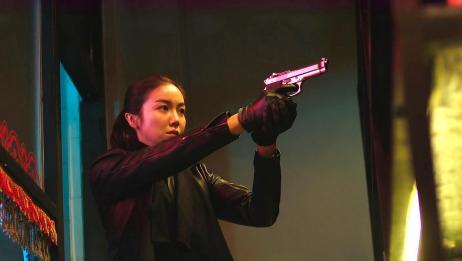 韩国劲爆动作电影《恶女》,这个女杀太狠了,自己老公都不放过