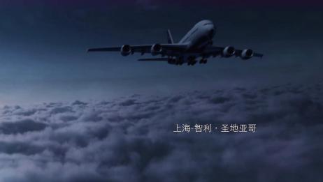 飞机遭遇强对流天气,乘客都被吓坏了,空难太可怕了