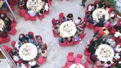 四川乡村坝坝宴,让人垂涎三尺的传统九大碗