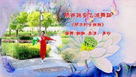 陕北女娃娃美的像云霞你们觉得呢?