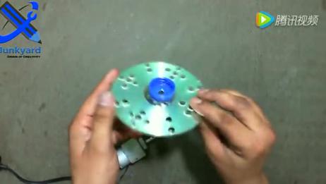 牛人牛事!DIY自制家庭电动吹泡泡机,好好学