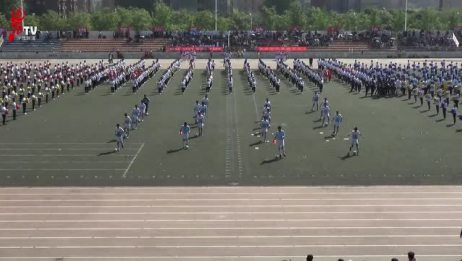 长安大学第19届运动会开幕式全程
