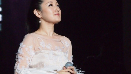 杨钰莹陕西府谷演唱《我在春天等你》,小城百姓有幸目睹玉女风采
