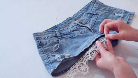 短裤太短暴露穿不出去?教你这种方法,简单易学,轻松解决
