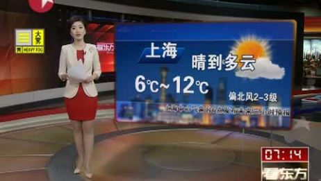 [看东方]上海未来三小时天气预报