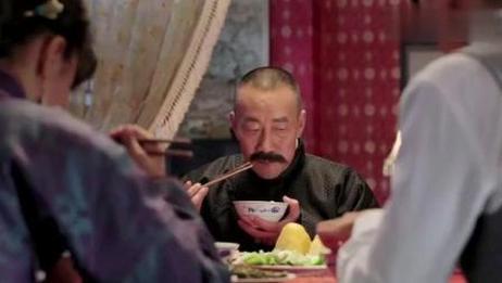 《少帅》张作霖在家吃饭时与张学良讨论教育问题