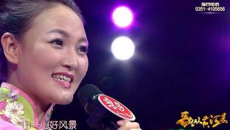 歌手高旭丽演唱《杨柳青》听得心里甜甜的