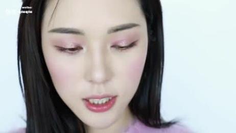 温柔可人的紫葡萄妆容教学,2018流行最时尚美妆秘技你能达成!