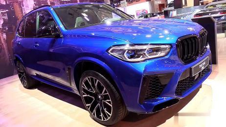 新车展示,高清实拍2020款宝马X5 M版