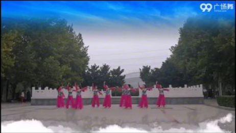 禹州市王月平晨韵舞蹈二队 女儿情 禹州市王月平晨韵舞蹈队 表演 团队版