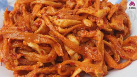 农村顾念教你传统萝卜干做法,又香又辣,用料是关键