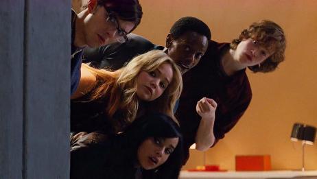 X战警:变种人欢聚一堂,各自展示超能力,各种破坏公物,太逗了