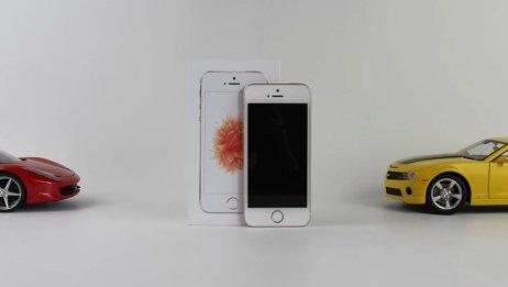 「未来科技」iPhoneSE深度测评 对比小米5 6SPLUS