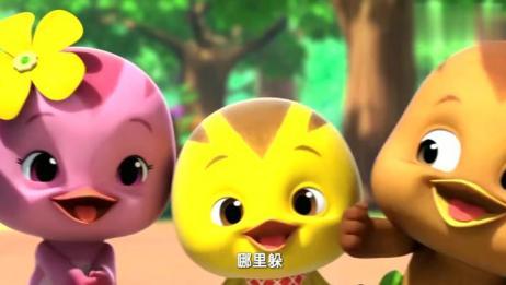萌鸡小学堂:萌鸡们为竹节虫唱歌,竹节虫献上优美的舞蹈!