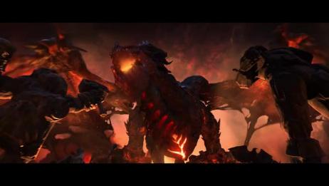 《魔兽世界》暴雪官方CG动画宣传片:《死亡之翼》·【1080P】·