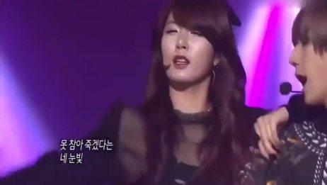 韩国最火的男女双人组合,凭借这首歌火