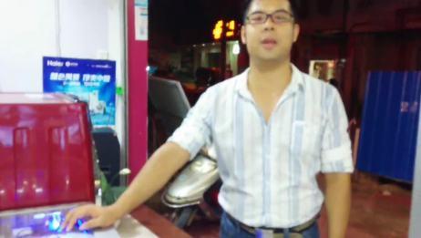 南宁中心浦奔海尔洗衣机XQG70B10288A水晶滚筒视频讲解