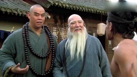 水浒传:长老是个高人,六十二斤禅杖耍的虎虎生风,智深大开眼界