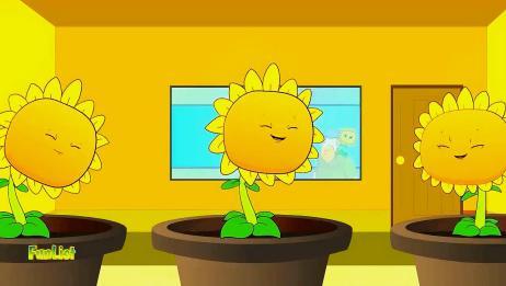 植物大战僵尸游戏动画:向日葵流水线