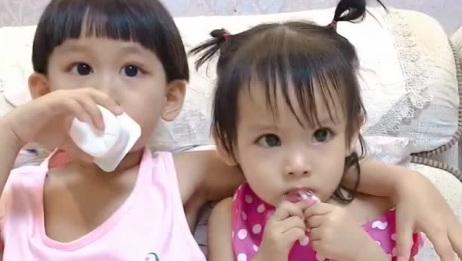自从生了二胎妹妹,三岁半的哥哥竟然跟变了一个人一样
