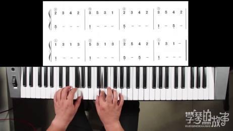 32.电子琴自学,双手基本功初级训练