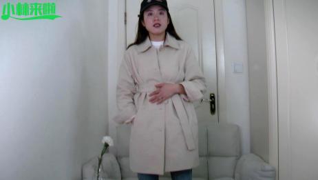 小清新的短风衣,这样简单的穿搭,休闲女人还显高,你喜欢吗?