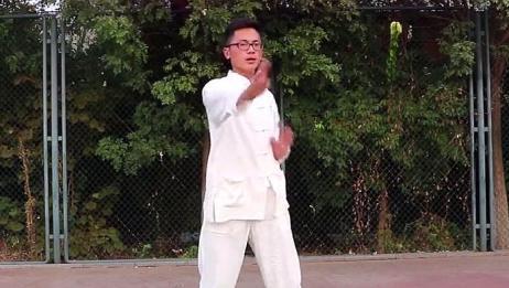 """传统武术,太极武术基本功""""左右推掌""""教学,赶紧来学学吧"""