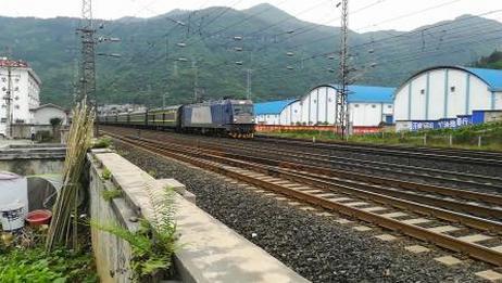 [2019.5.13沪昆线湘黔段龙里站附近拍车]广铁长段HXD3C 0532牵引