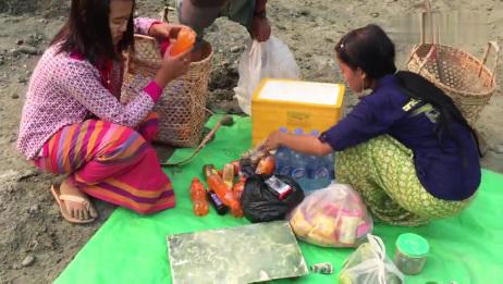 缅甸翡翠矿山实拍:莫西沙矿区,场面壮观!千人同时开挖现场!