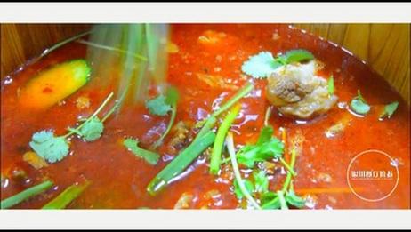 【银川餐厅推荐】银川这家店用木桶炖肉,不直播都好意思吃!