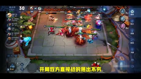 王者模拟战:法师成帮结队,层出不穷的技能璀璨夺目。