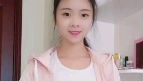 粉色套装姐姐美丽可爱