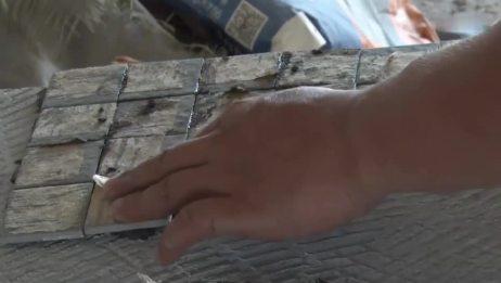 贴砖师傅教你贴砖的时候如何调整砖缝