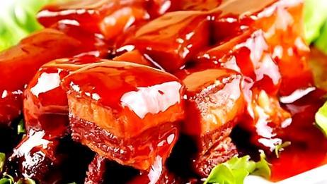 东坡肉最正确的家常做法,大厨把技巧全告诉你,肥而不腻,太香了