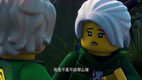 乐高幻影忍者:劳埃德平安了,晴美太高兴情不自禁亲了他!