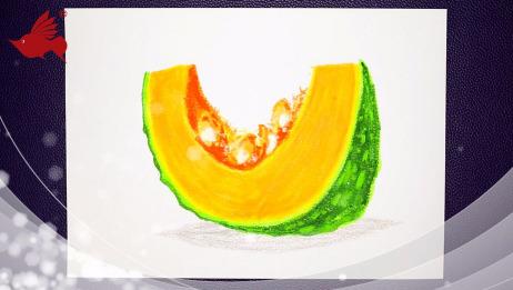 重彩油画棒与精彩棒的完美结合,小孩子也能画出油画般的效果