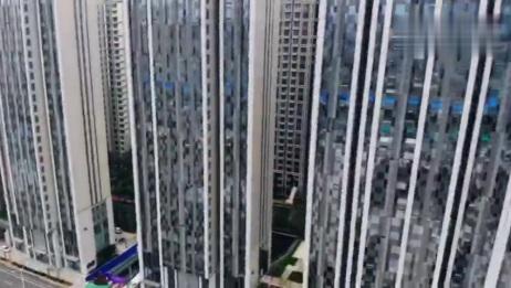 济南火车站北广场最新建设情况!全景鸟瞰!