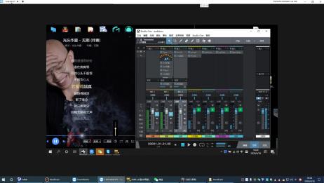 audio box声卡+铁三角at2035搭载虚拟跳线asiolinkpro s