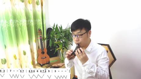 「糖糖音乐家」第十五节课12孔陶笛教学《故乡的原风景》下 陶笛教程